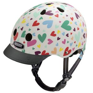 Nutcase Little Nutty Happy Hearts Kinderfahrradhelm 001
