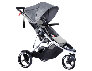 phil & teds Dash Kinderwagen 2018 grey...