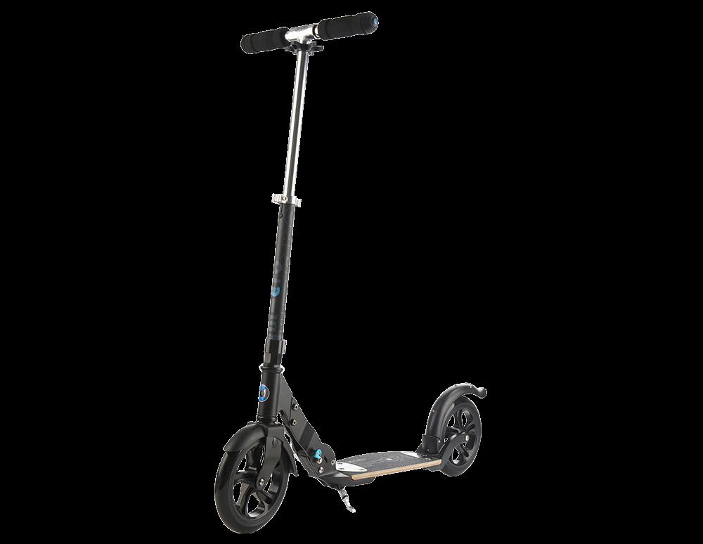 micro scooter flex 200 roller black sa0119. Black Bedroom Furniture Sets. Home Design Ideas