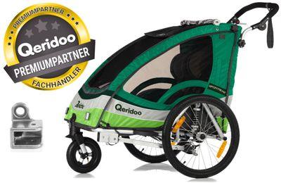 Qeridoo® Sportrex 2 Kinderanhänger 2017 – Bild 2
