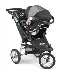Baby Jogger Autositzadapter Maxi Cosi,Cybex,Kiddy – Bild 2