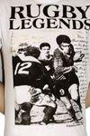 "ALCOTT Shortsleeve Retro T-Shirt ""Rugby Legends"" Bild 4"