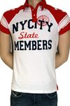 "ALCOTT College Polo-Shirt ""New York"" in 3 Farben 002"