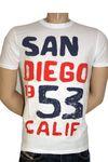 "ALCOTT Shortsleeve Retro T-Shirt ""San Diego"" in 2 Farben!"