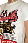 "Flying Suplex Vintage Print Retro T-Shirt ""Rockwells"" in 2 Farben! Bild 4"