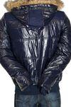 Blend of America Glossy-Style Kapuzen-Jacke in 2 Farben Bild 4