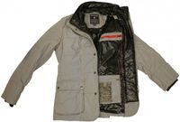 Rodrigo angesagte Winter Jacke  in Grau - Made in Italy - Bild 3
