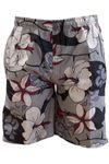 BLEND of America 2in1 Wende Badehose/Badeshorts Floral und Uni 002