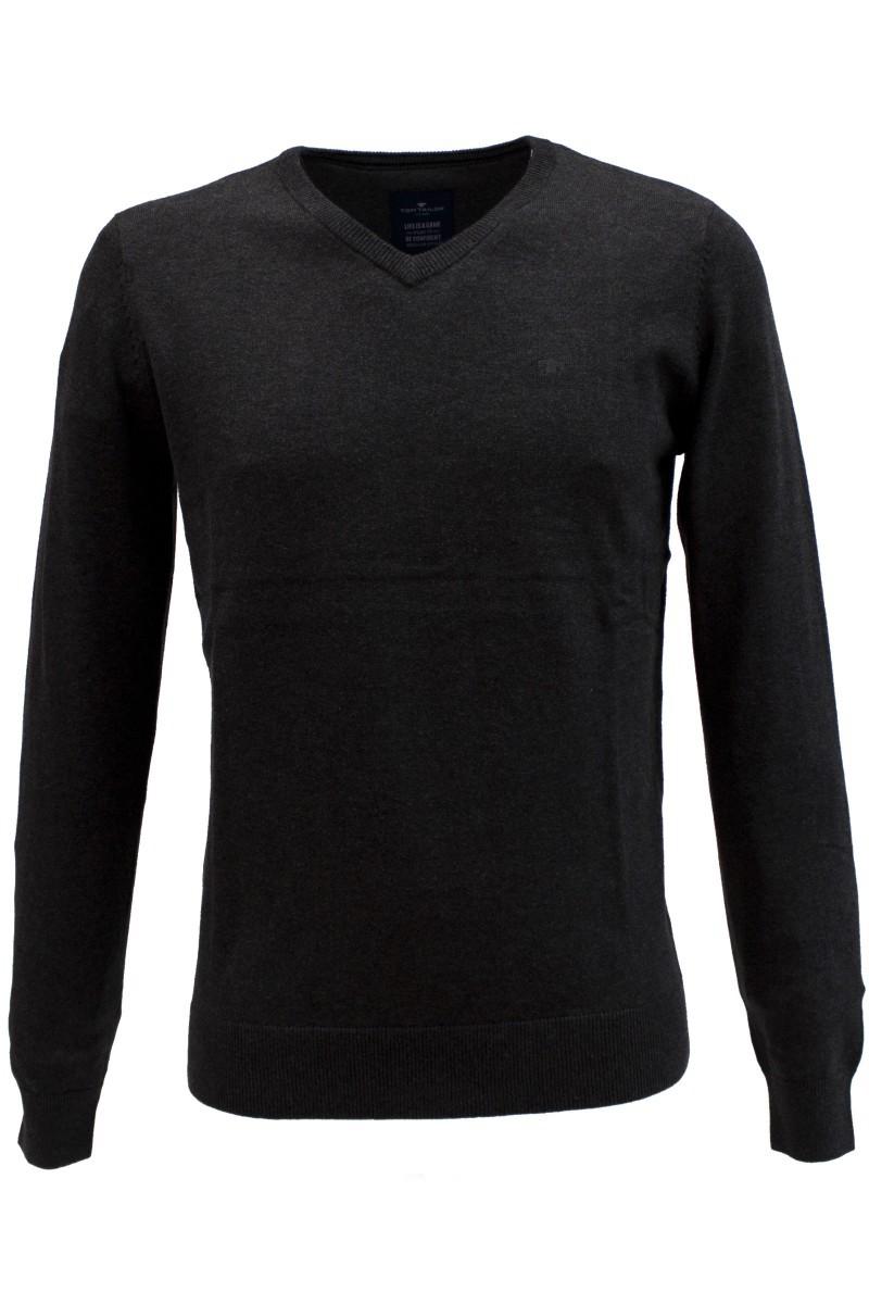 tom tailor pullover basic v-neck sweater