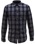 TOM TAILOR Ray washed indigo check shirt
