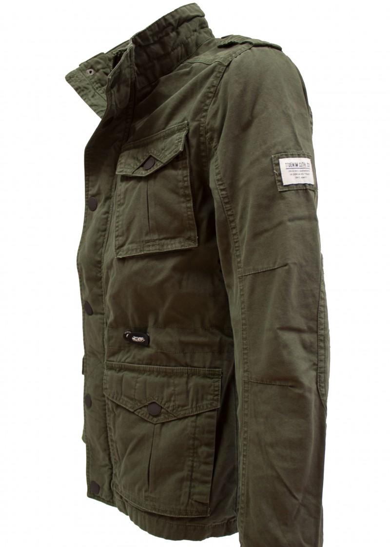 tom tailor denim herren cotton field jacket men. Black Bedroom Furniture Sets. Home Design Ideas