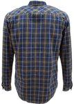 TOM TAILOR Herren Hemd Jeans-Hemd mit Überkaro Bild 2