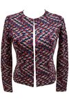 TOM TAILOR Damen gemusterter Blazer