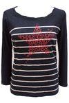 edc by ESPRIT Damen Longsleeve T-Shirt mit Print Bild 3