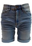 Blend of America Stretch Jeans-Shorts in 3 Farben Bild 3