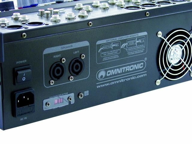 OMNITRONIC LS-822A Powered live mixer – Bild 2