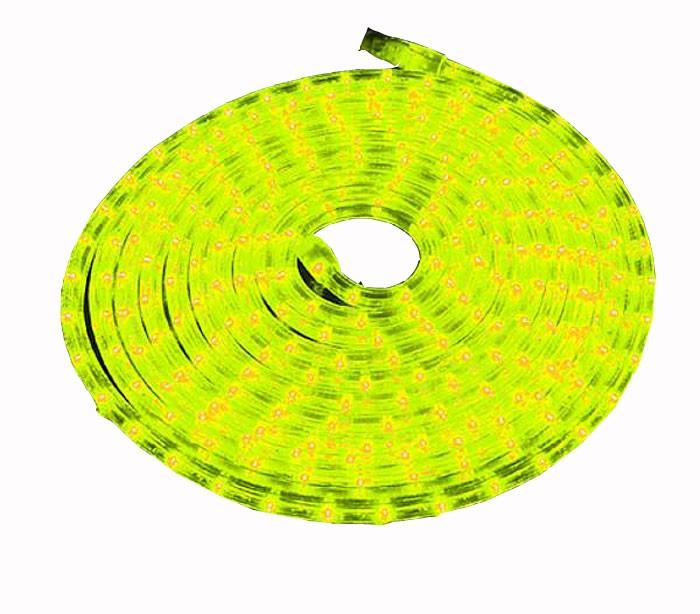 LED-Lichtschlauch 9 Meter mit 216 LEDs in gelb
