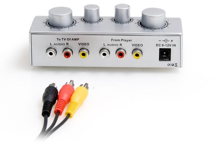 Karaoke-Mischverstärker + 2x Mikrofon TV-1 – Bild 2