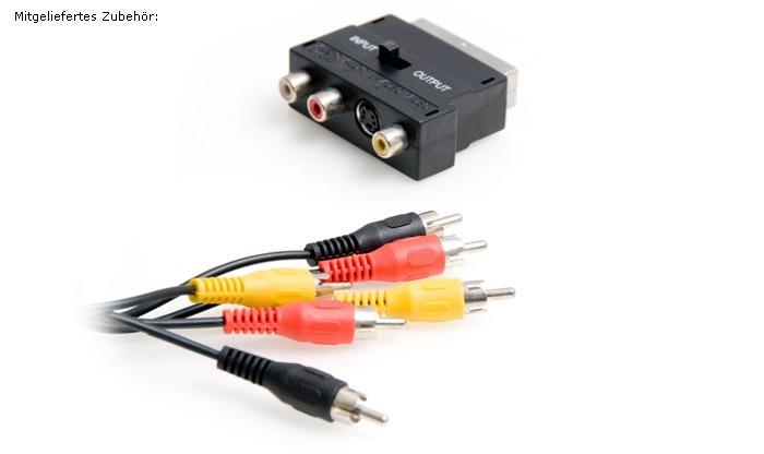 Karaoke-Mischverstärker + 2x Mikrofon TV-1 – Bild 3