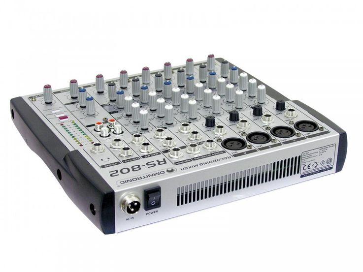 OMNITRONIC RS-802 Recording mixer – Bild 2