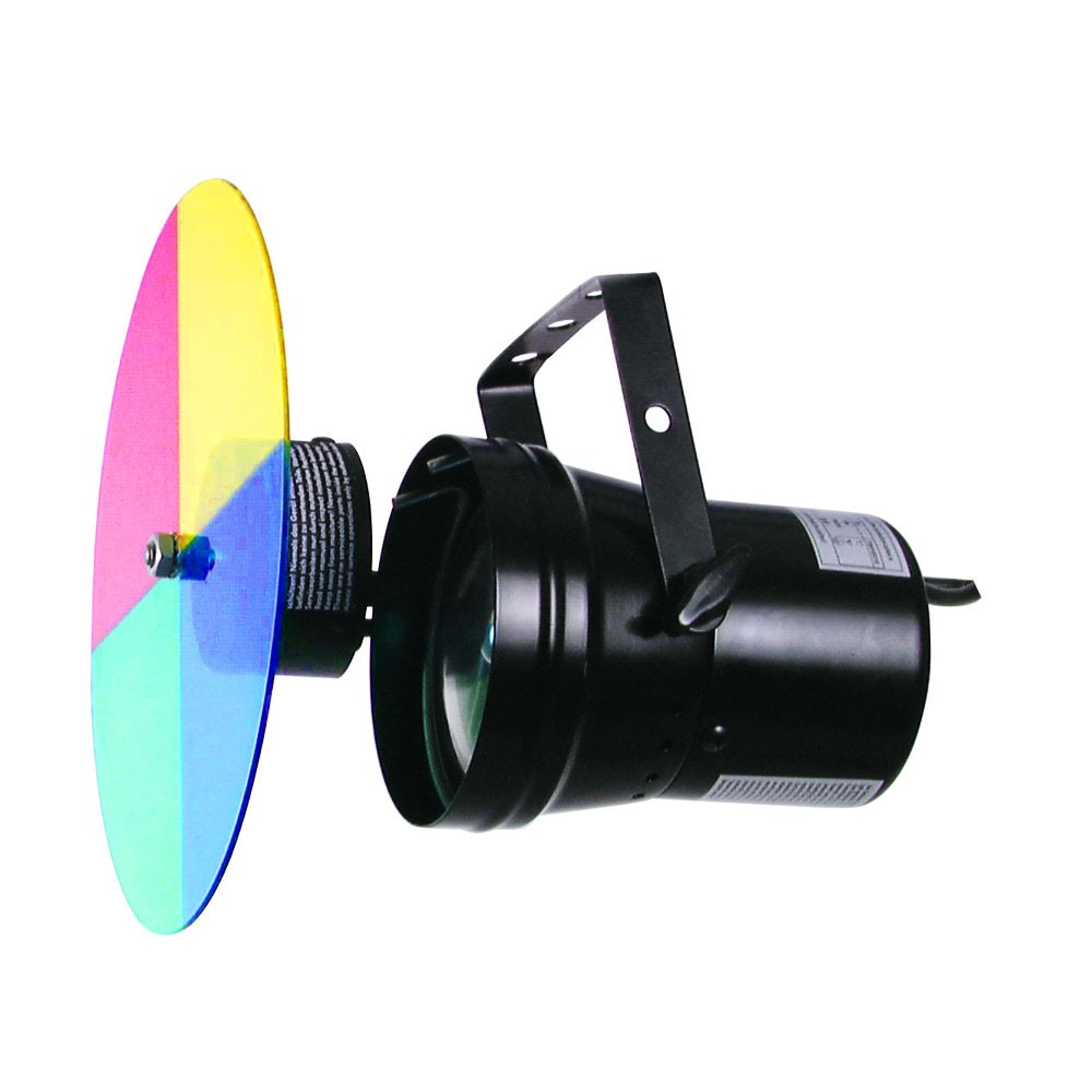 High quality mirror ball with color changer – Bild 3
