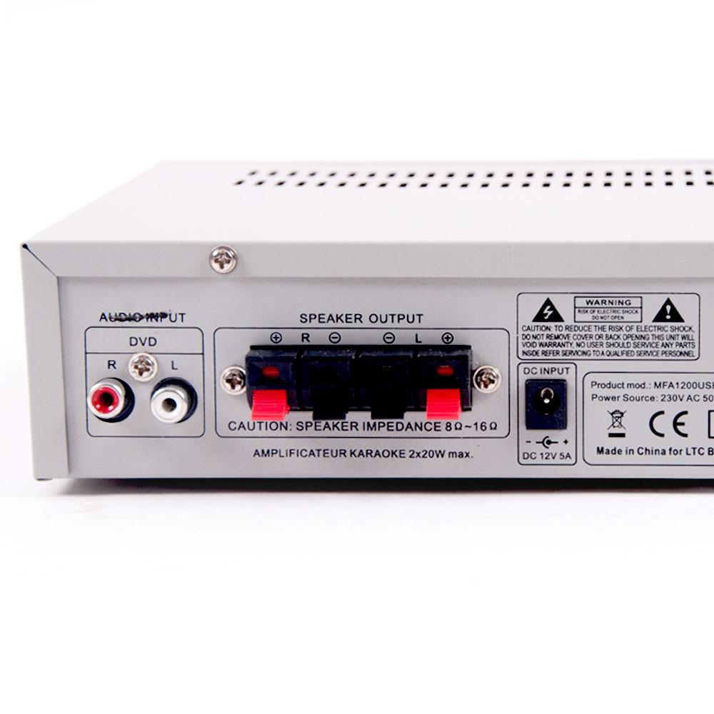 Compact karaoke system with 2 microphones – Bild 8