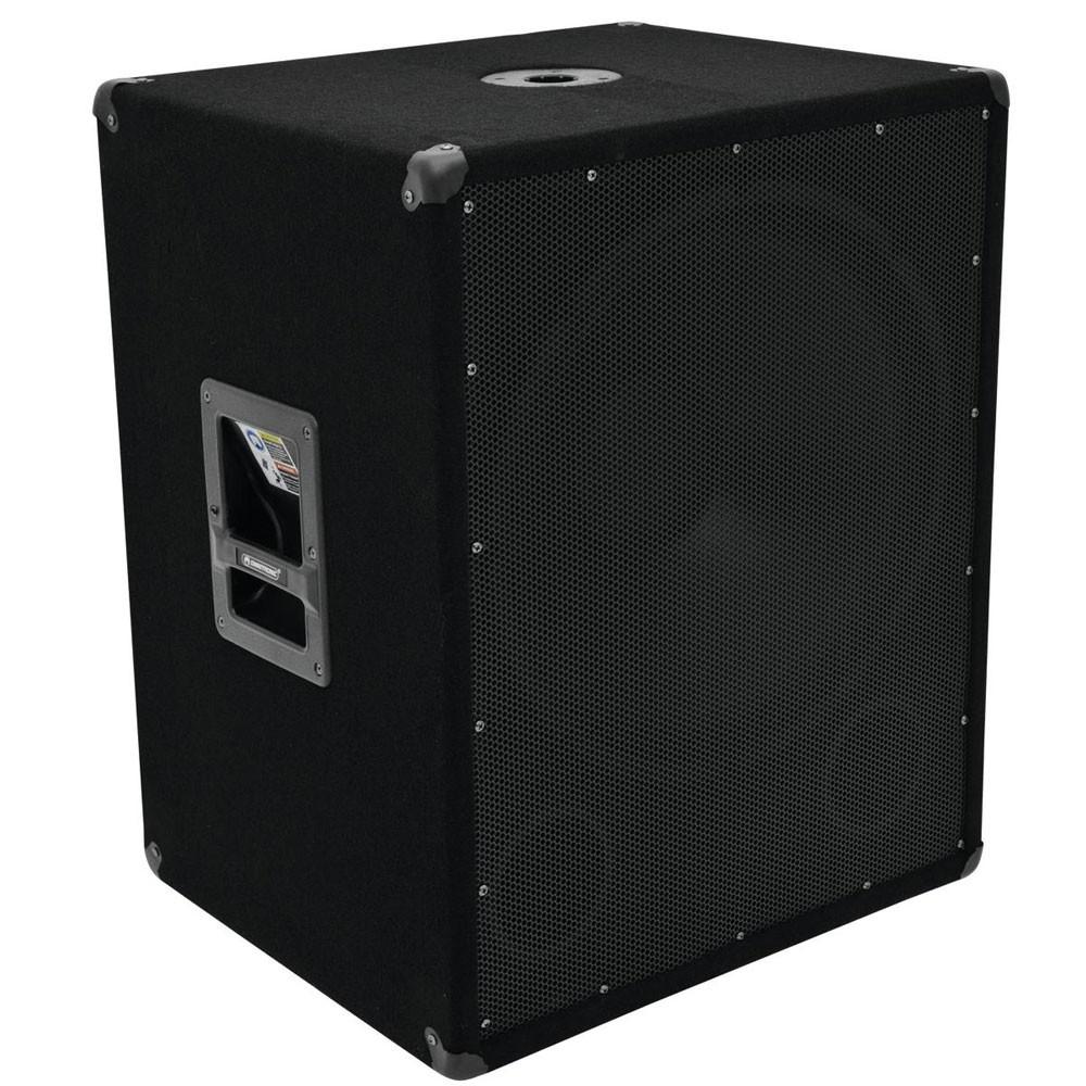 1200W DJ PA OMNITRONIC Subwoofer BX-1850 – Bild 1