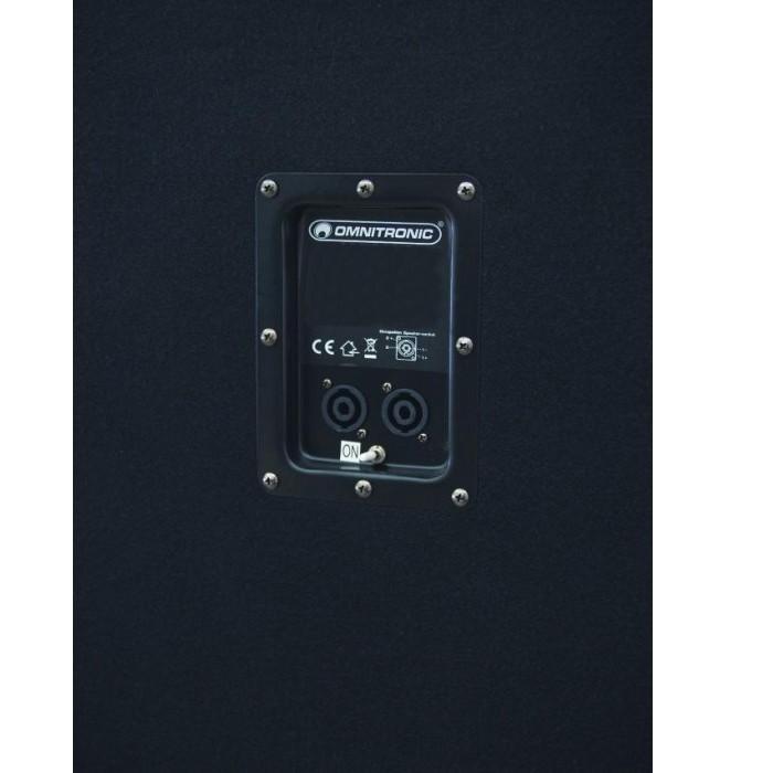 Subwoofer baffle DJ puissance 1200 watts enceinte haut-parleur PA BX-1850 – Bild 2