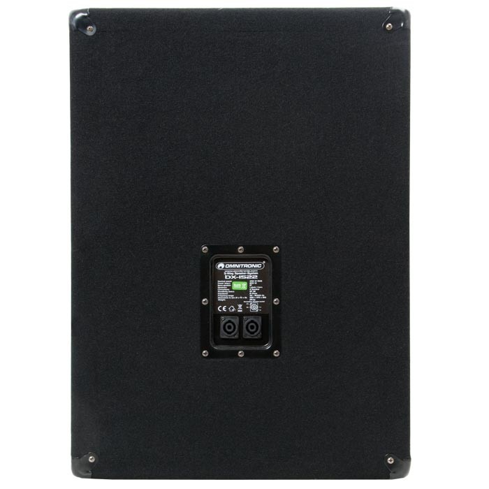 "1600 Watt PAIR 3-way PA loudspeaker 15"" Bass 35cm OMNITRONIC DX-1522 – Bild 2"
