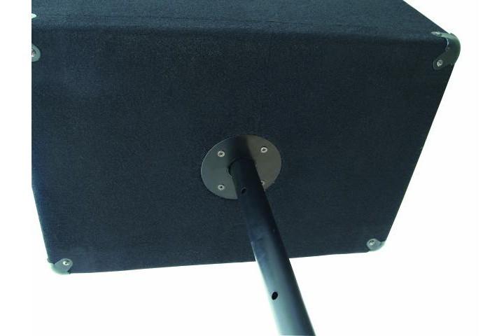 Pair des baffles 3 voie 1600 W PA DJ basse 15 pouces 35 cm Omnitronic DX-1522 – Bild 3