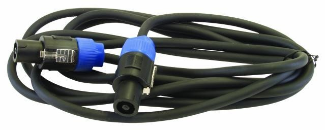 PA-Verbindungskabel 15m Stecker-Stecker Speakerkabel