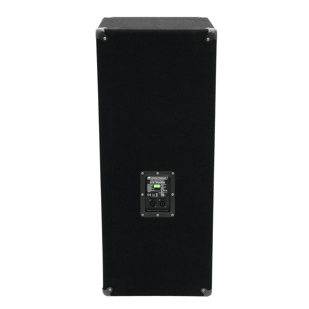 Baffle 1000 W 3 voies basses haut-parleur enceinte OMNITRONIC DX-2222 11037087 – Bild 2