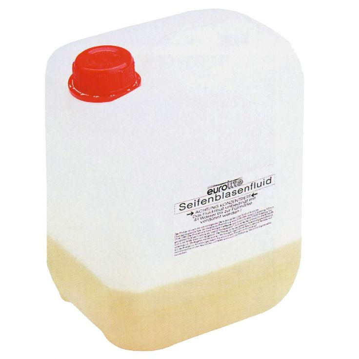 SOAP bubbles concentrate for 5 litres for all major machines EUROLITE 51705300 – Bild 1