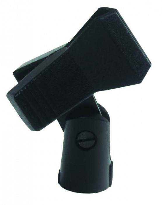 High quality microphone clamp in color black