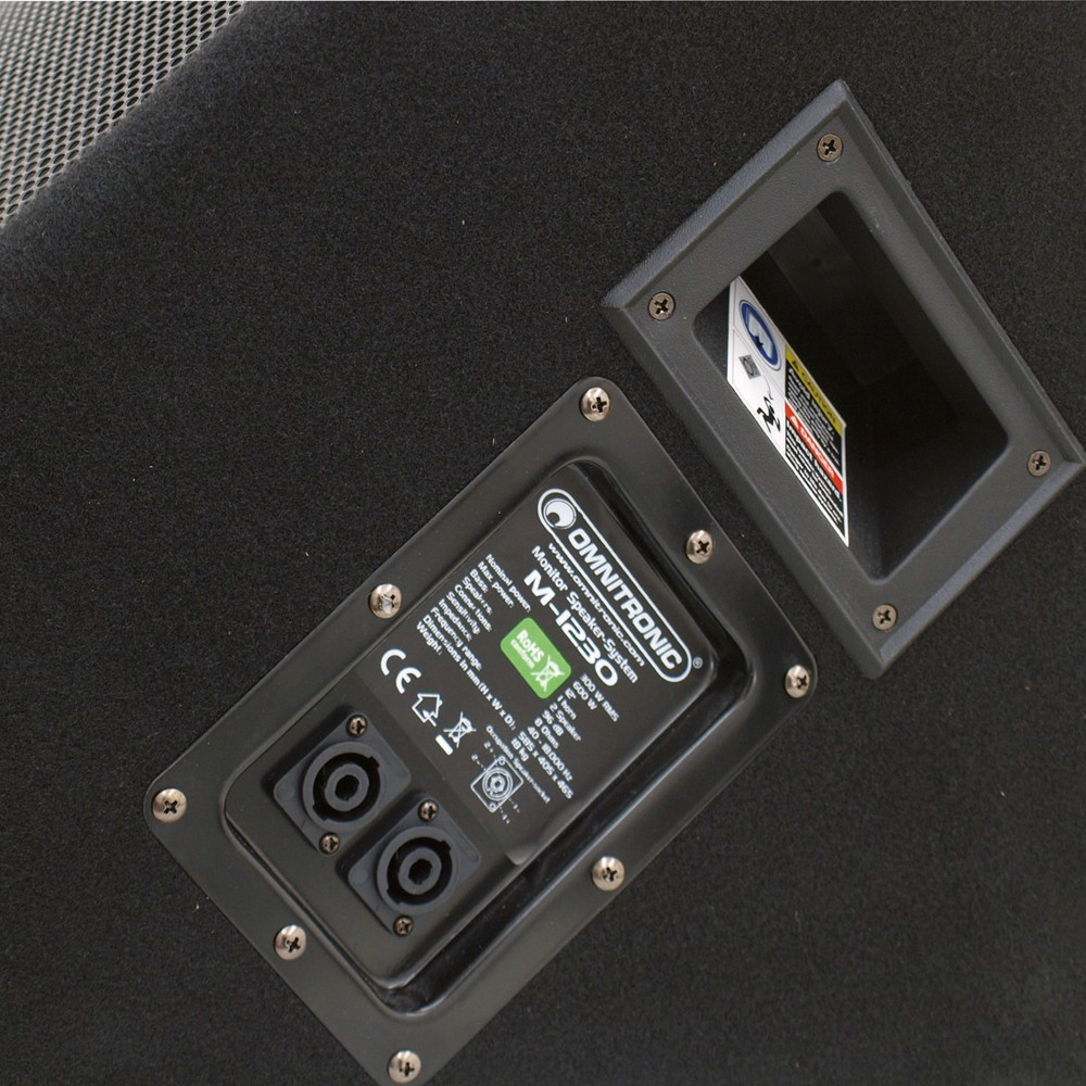 "Professional monitor speaker 12 ""/ 30.5 cm Box PA SPEAKER 600W OMNITRONIC M-1230 – Bild 2"