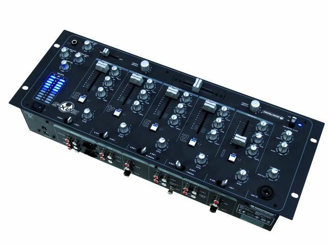 5-channel club mixer professional DJ mixer Omnitronic EMX-5 – Bild 1