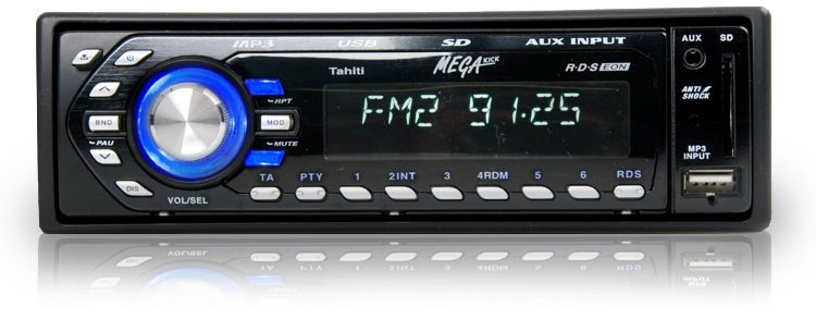 volldigitales auto radio tuner usb sd megakick tahiti. Black Bedroom Furniture Sets. Home Design Ideas