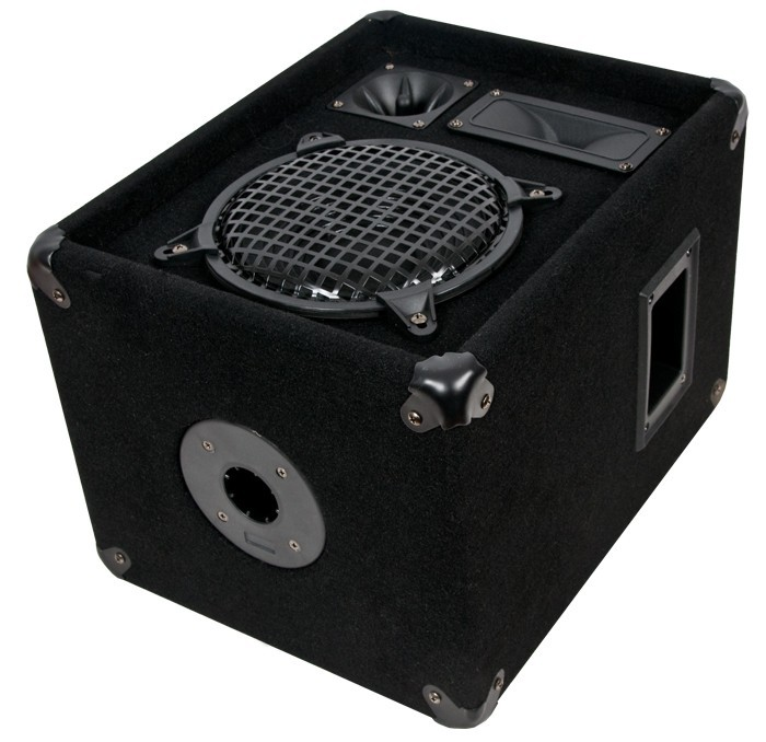 600 Watt PAAR 3-Wege Boxen Lautsprecher OMNITRONIC DX-822 – Bild 2