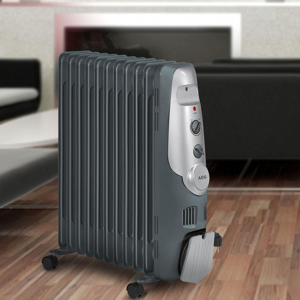 Portable heat 2200 watt oil filled radiator AEG RA 5522 – Bild 2