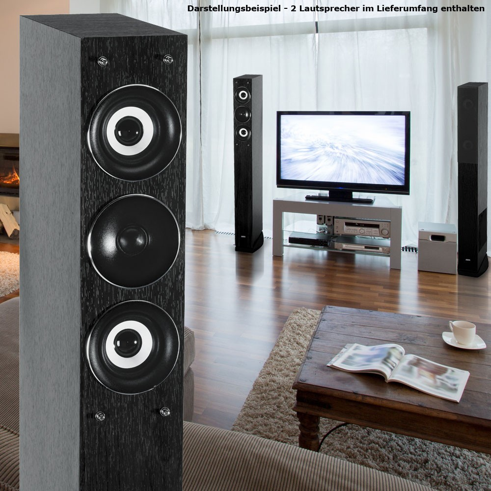 Home Theatre Stading Speakers New Subwoofers Tower Speakers AEG LB 4710 bl – Bild 4