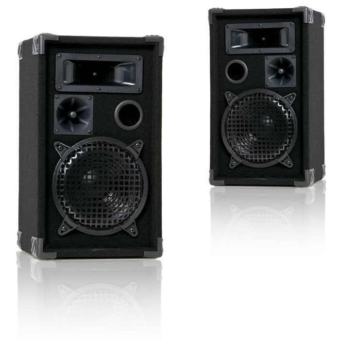 600 Watt PAIR 3-way Boxes PA-Loudspeaker Liston – Bild 1