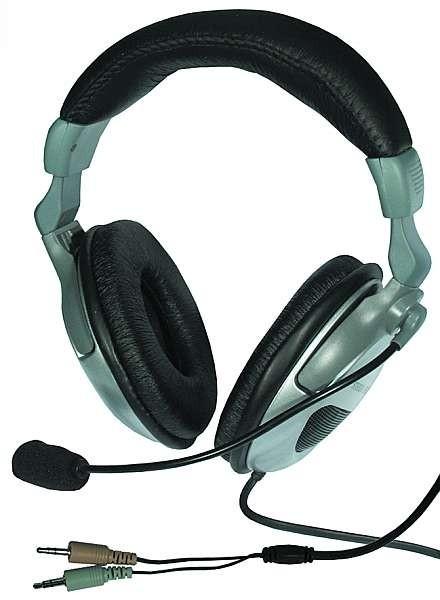 Stereo-Headset Mikrofon & Kopfhörer Luxus-850