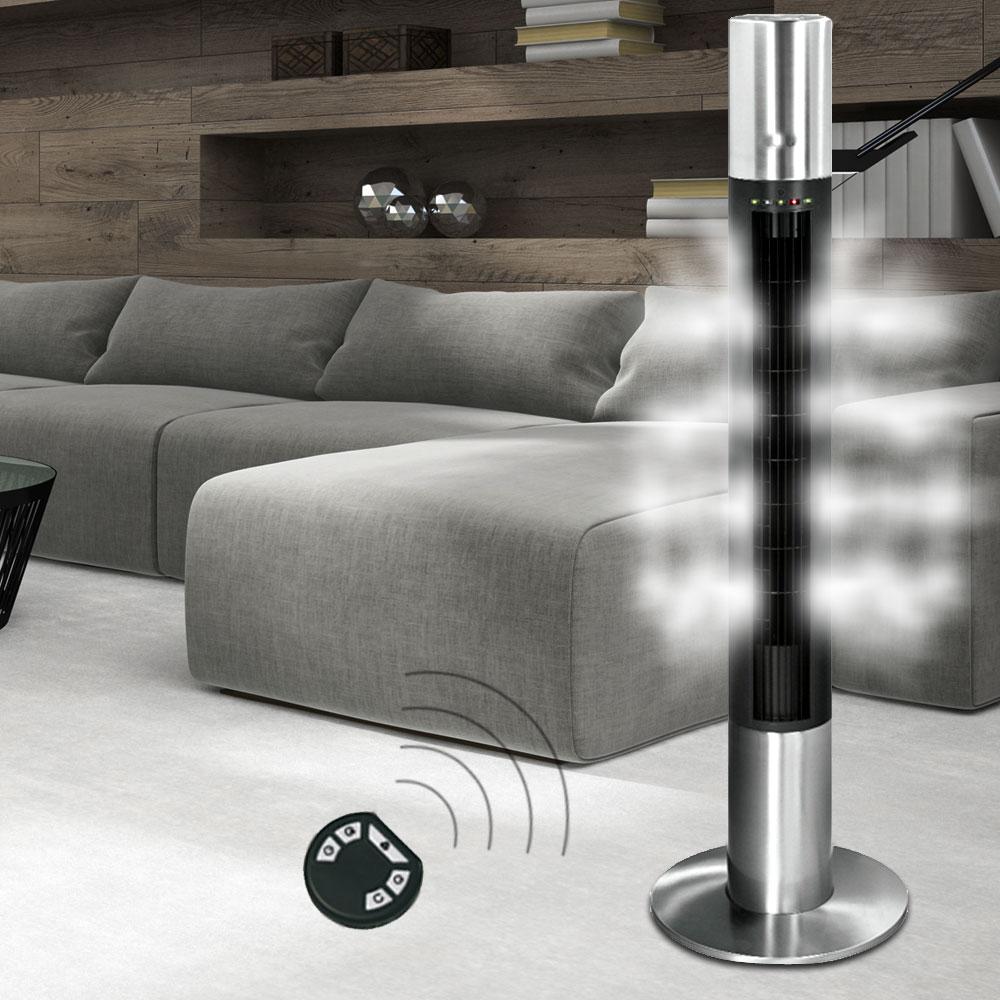 Ventilateur oscillant en inox avec télécommande infrarouge – Bild 3