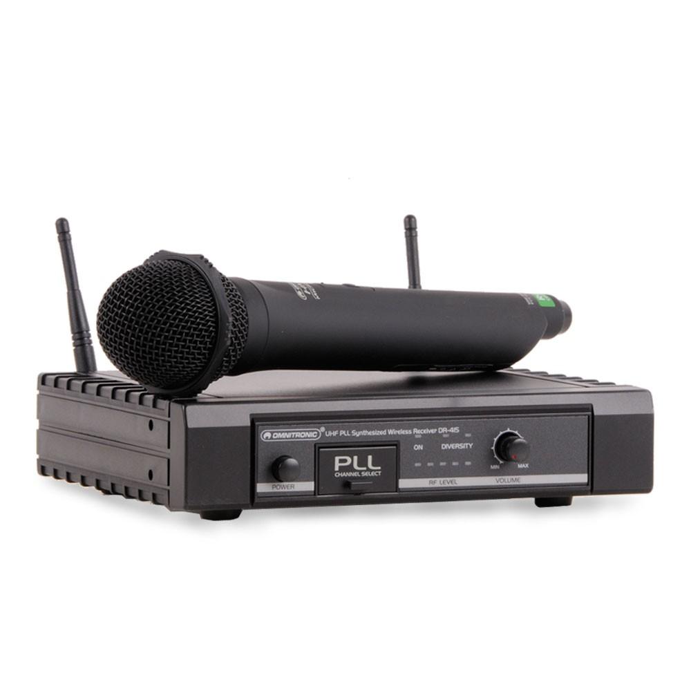 Funkmikrofonset OMNITRONIC DR-415 & HM-115 Funk-1