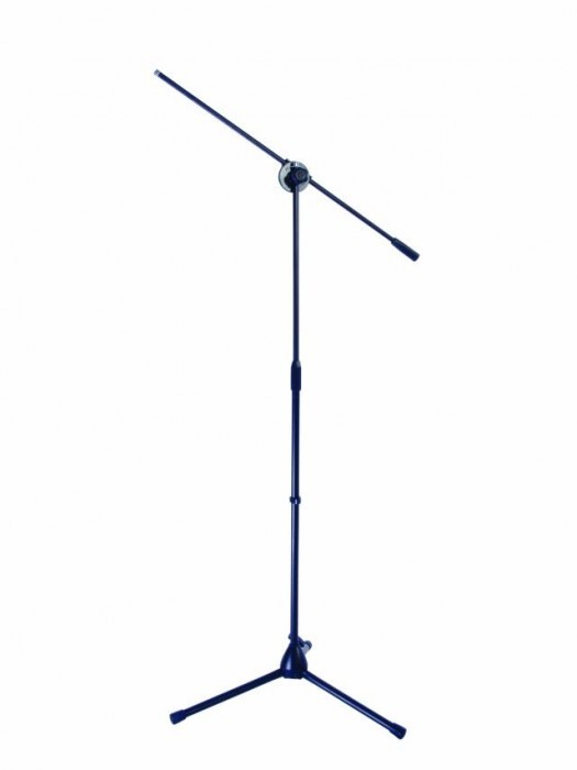 Mikrofonstativ mit Galgen schwarz 60005836