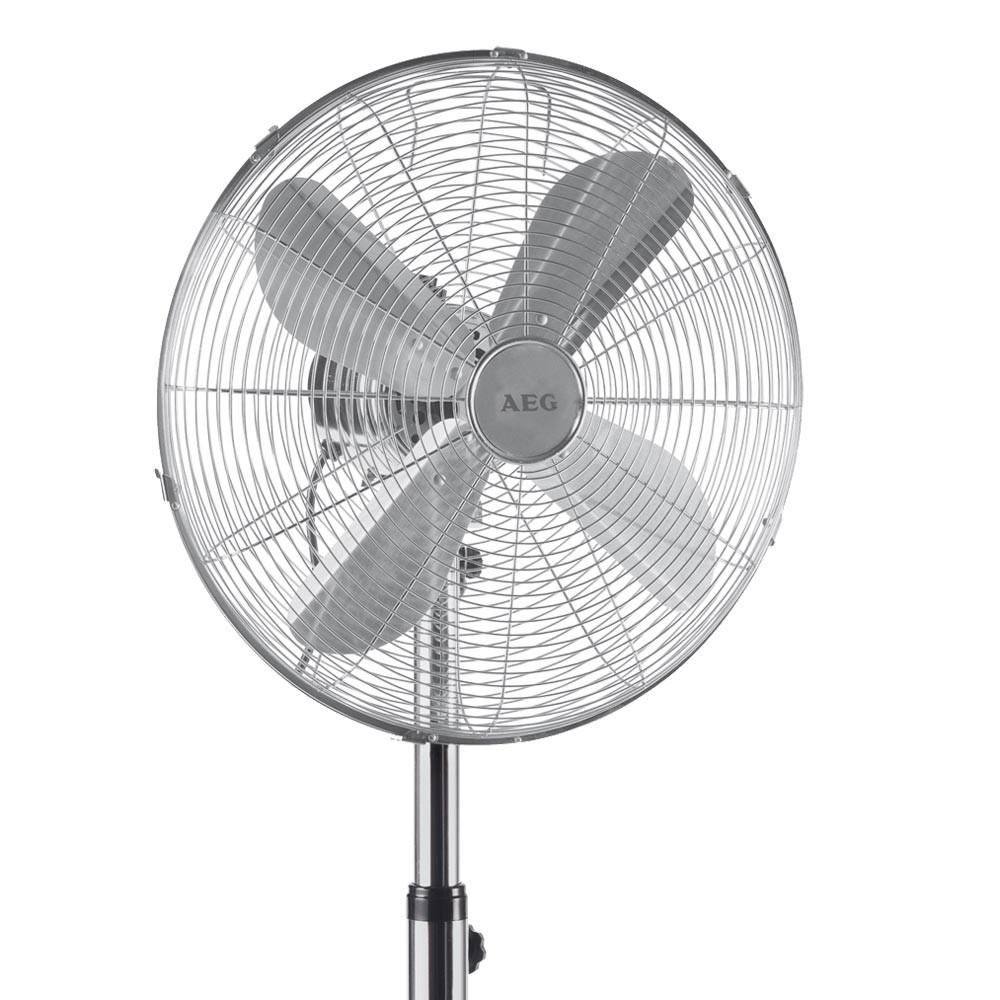 aeg designer metall stand ventilator vl 5527 ms k che haushalt klima heizger te ventilatoren. Black Bedroom Furniture Sets. Home Design Ideas