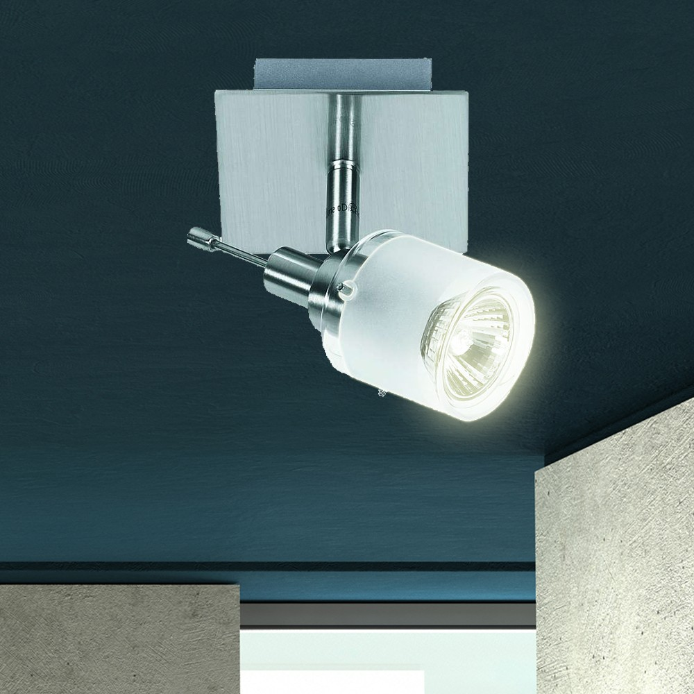 Éclairage plafonnier en aluminium avec l'agent lumineux halogène 50watts  – Bild 2