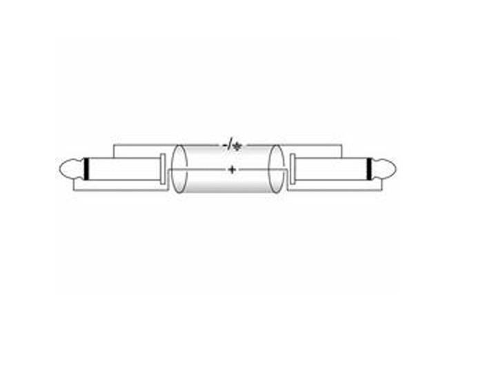 Mono Klinke/Klinke Kabel 0,5m KC-05 schwarz – Bild 2