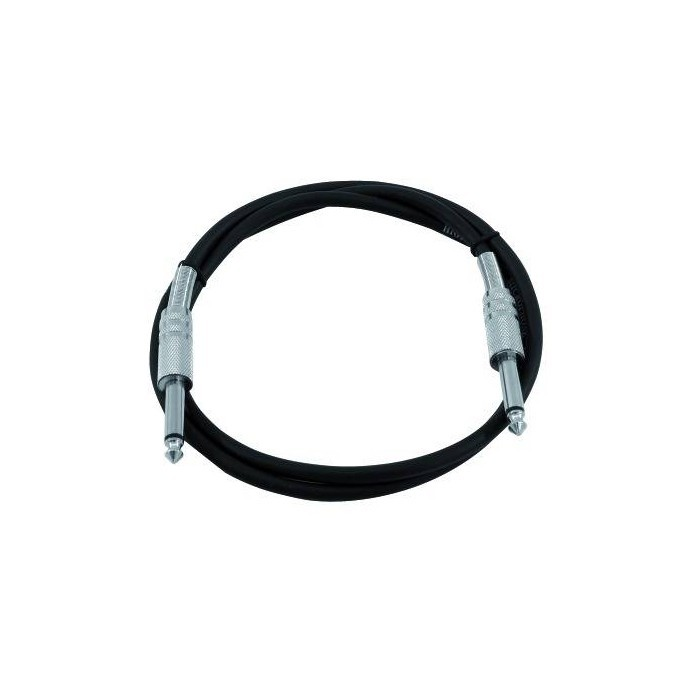 1.5 m mono jack / jack cable KC-15 black – Bild 1