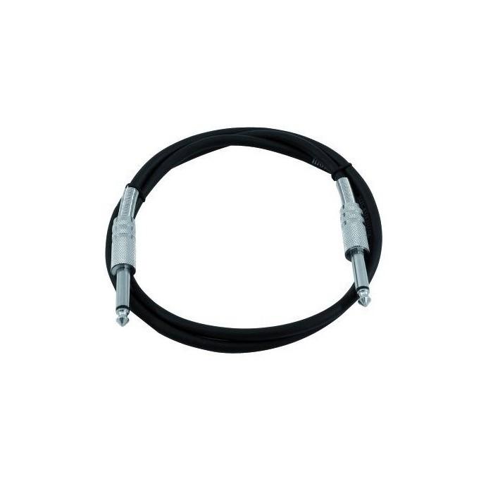 1,5m Mono Klinke/Klinke Kabel KC-15 schwarz – Bild 1